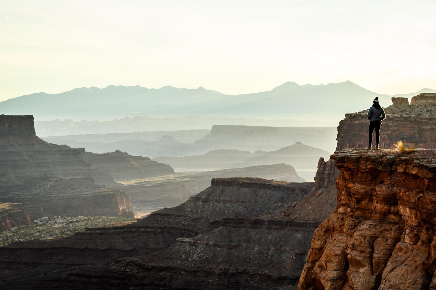 Canyonlands Sunrise Fog